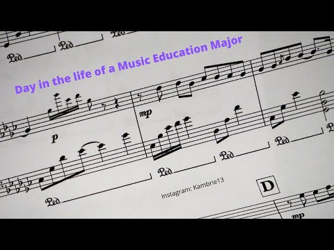 A College Day as a Music Education Major