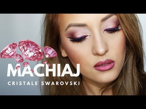 Machiaj De Party In Nuante De Roz Cristale Swarovski Pink