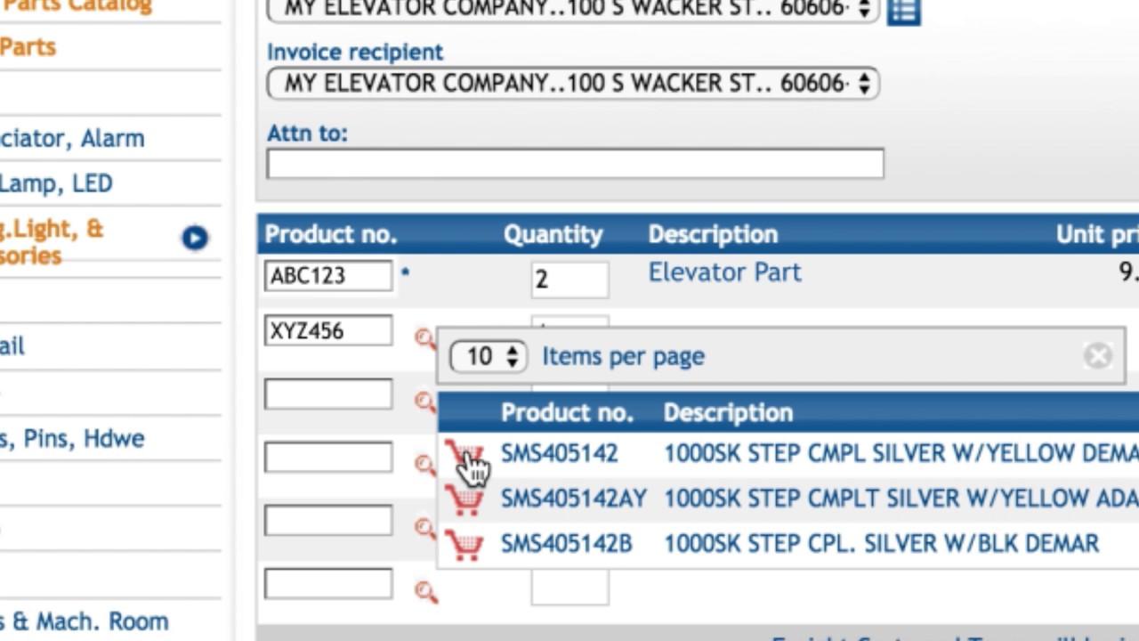 Online Store FAQ   Adams Elevator