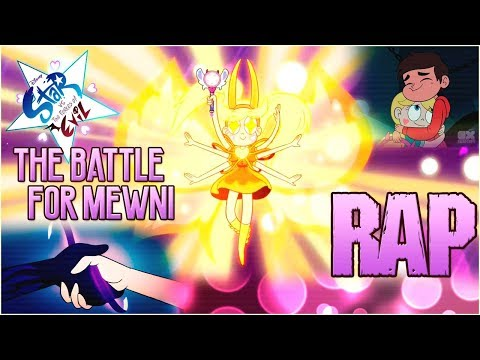 "STAR VS LAS FUERZAS DEL MAL RAP - ""Battle for Mewni"" La Pelicula (The Movie) SVTFOE   Zoiket"