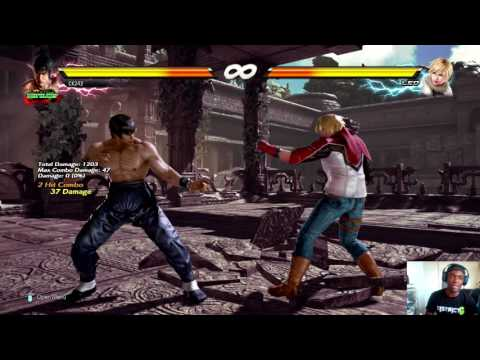 Tekken 7: Law b1+2 parry option (secret)+ Tattakai Holland aftermath