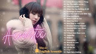"""""""I Don't Want to Miss a Thing"""" Acoustic Cover 