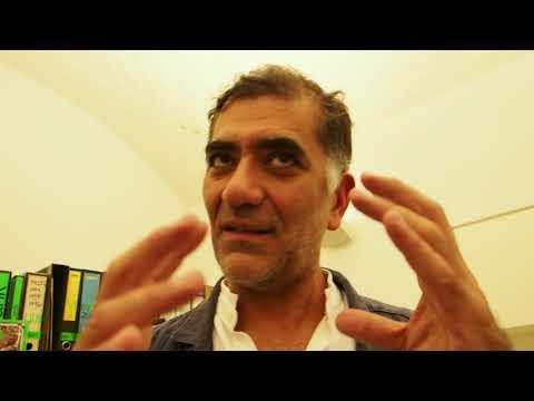 Ramak Fazel autore di Milan Unit, un'opera aperta, Viasaterna, Milano, 19/09/2017