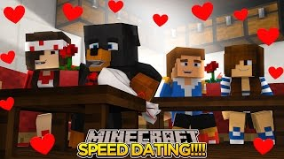 Minecraft - Donut the Dog Adventures -DONUT GOES SPEED DATING w/LITTLE DONNY!!!!