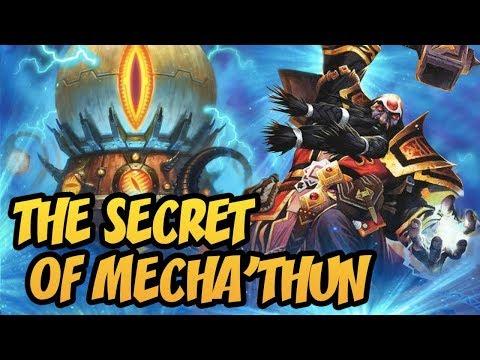 The Secret Of Mecha'thun! Wild Mecha'Thun Warlock | The Boomsday Project | Hearthstone