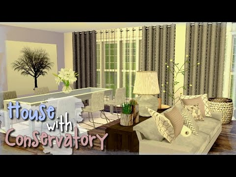 The Sims 4 - House with Conservatory (part 2)