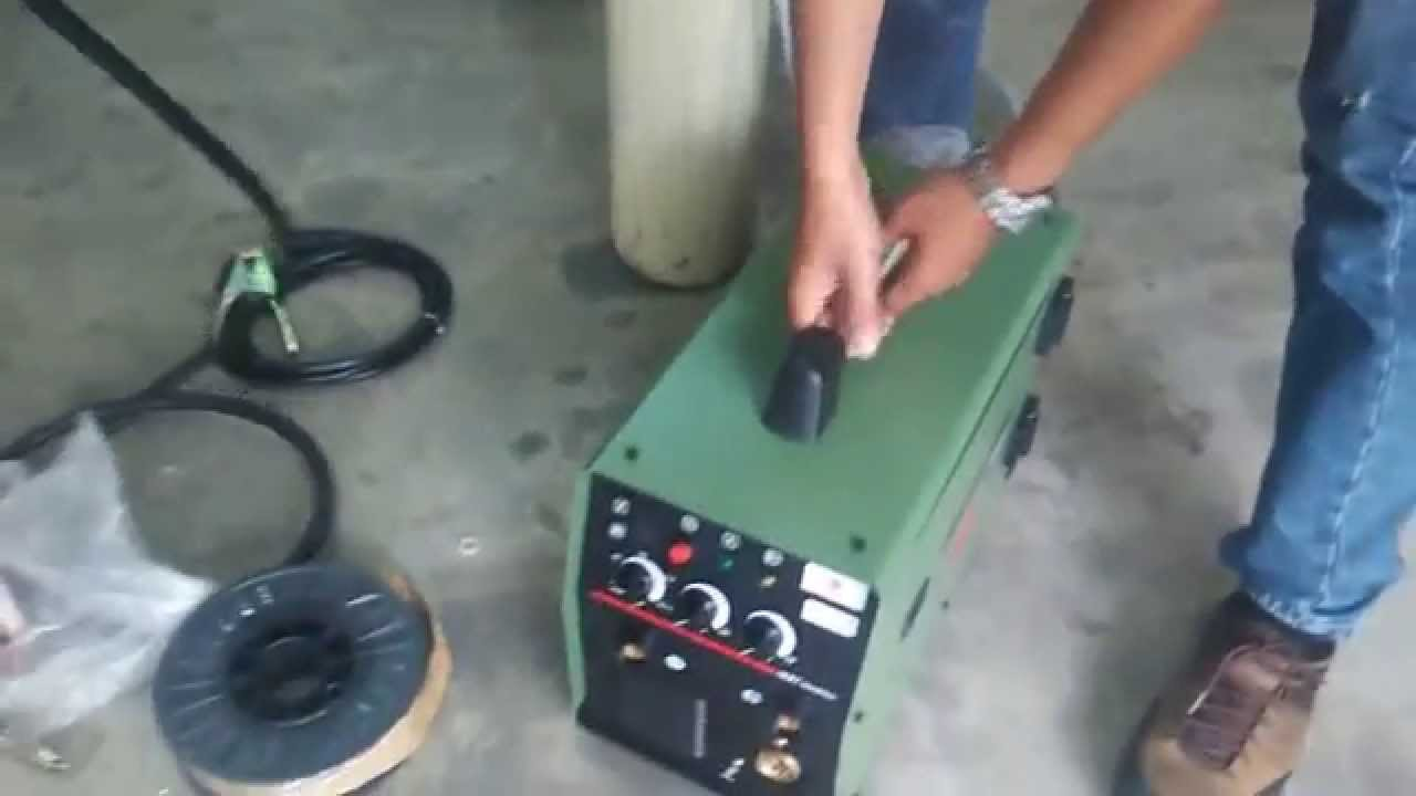 Cara cara memasang Mig Welding Machine . The way of install Mig ...