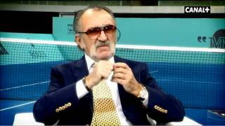 ION TIRIAC talks about Nadal ,Djokovic and tennis today.