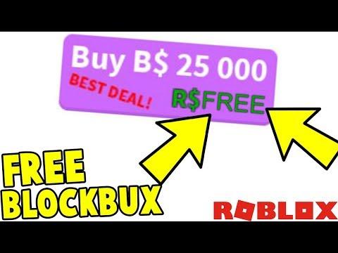 Bloxburg How To Get Free B Blockbux Glitch Youtube