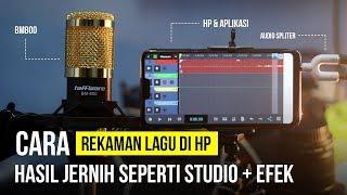 Cara Rekaman Lagu di HP Hasil Jernih Seperti STUDIO dan bisa PER TRACK MP3