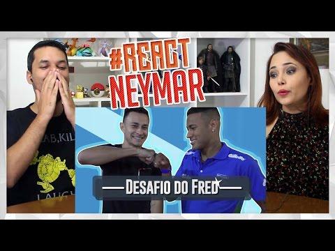 REACT DESAFIO DO TRAVESSÃO COM NEYMAR (Desimpedidos)