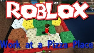 Team SBG Plays Roblox: Work at a Pizza Place - Making Some Money! (Family Multiplayer)