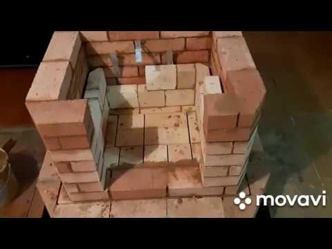Как сложить камин из кирпича своими руками схема