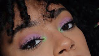 Purple & Green pop of color! - makeup tutorial  | jasmeannnn