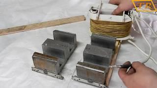 Переделка полуавтомата Edon ч.3 -перемотка трансформатора