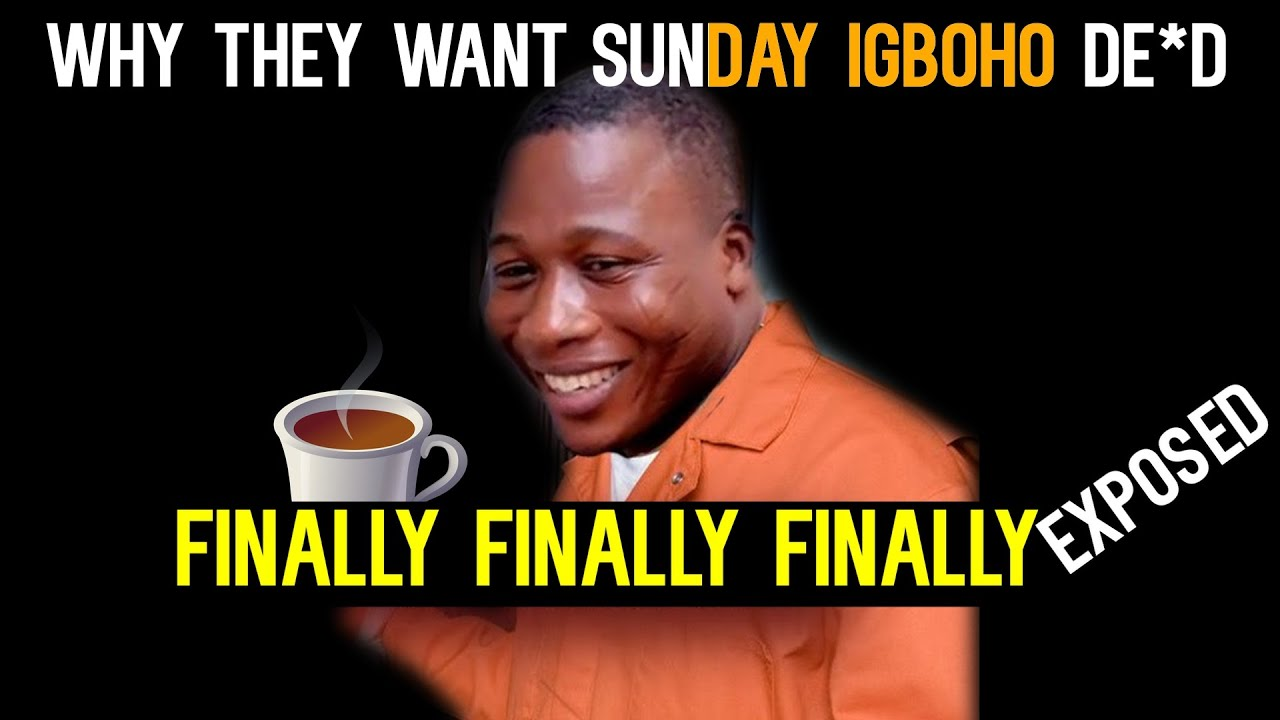 Download Just in:Why they want sunday igboho d@*d EXPOSED