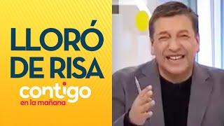 ¡LLORÓ DE RISA! JC Rodríguez no aguantó las carcajadas con falso atropello de pastor