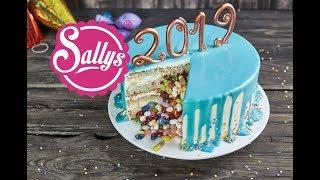 Drip Cake / Silvester Torte mit Überraschung