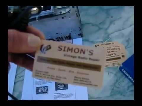 10 26 12  Simons Vintage Radio Repair Vid