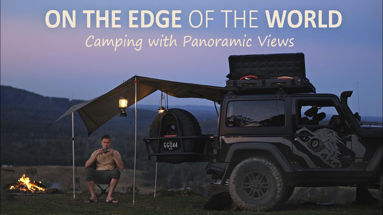 Car camping with Jeep Wrangler in Australia [ serene views, campfire food ] SoC ep12