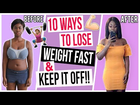 10 EASY TIPS TO LOSE WEIGHT THAT ACTUALLY WORKS | WandesWorld