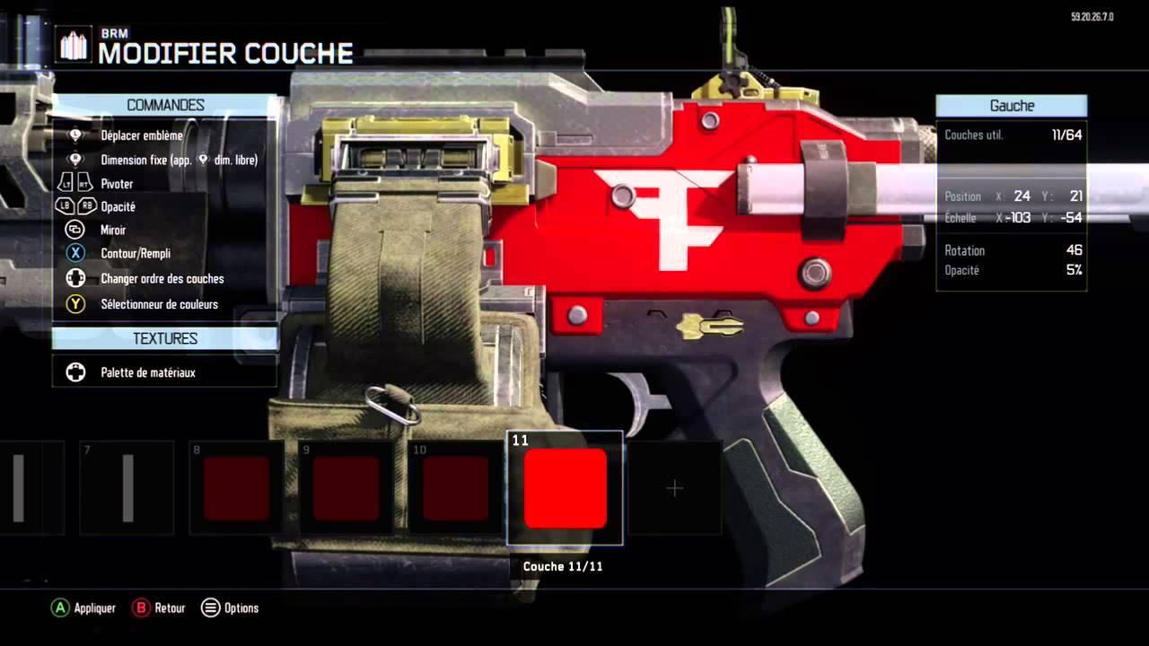 COD Bo3 faze paintjob tutorial - YouTube Changer Couche B on
