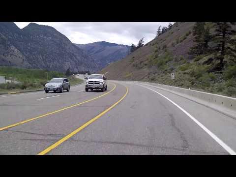 Keremeos, British Columbia (BC), Canada -  Fruit Village - Driving Through
