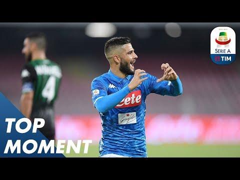 Insigne's Goal At The 72' | Napoli 2-0 Sassuolo | Serie A