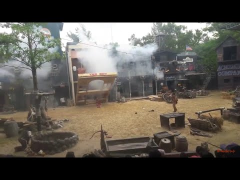 CowBoy Stunt Show @Safari World Bangkok