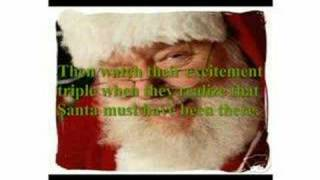 santa is real and now you have the evidence to prove it