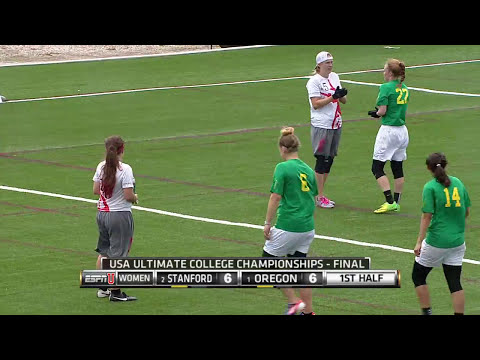 Oregon v Stanford (2015 College Championships - Women's Final)