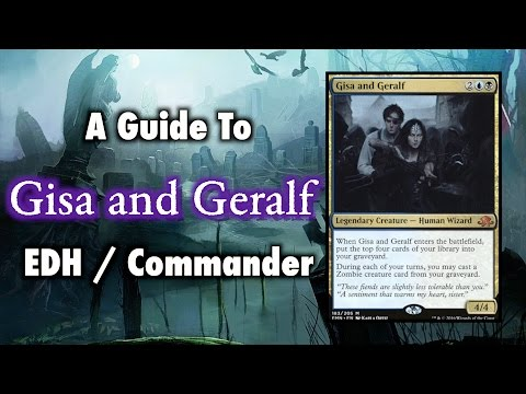 MTG - A Guide To Gisa and Geralf Zombie Tribal EDH / Commander for Magic: The Gathering