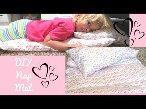 DIY Nap Mat ~ Bed Roll | An Easy DIY Tutorial