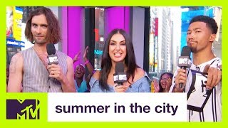 The All-American Rejects' Tyson Ritter Talks 'Sweat' & Sex In Church | Summer in the City | MTV