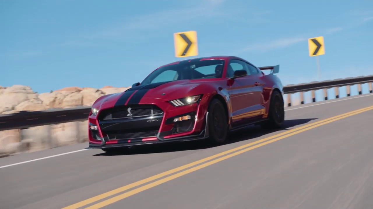 2020 Ford Mustang Shelby Gt500 Youtube