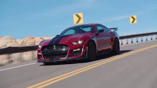 2020 Ford Mustang Shelby GT500 video debut thumbnail