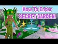 How To Enter SECRET GARDEN In ROYALE HIGH! Royale High Secret Places