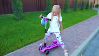 New scooter for children ! Playground for kids !