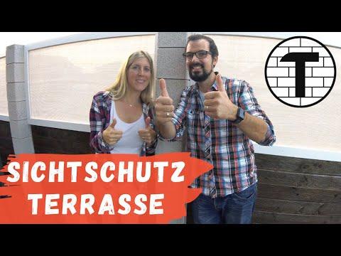 TomTut Sichtschutz für Terrasse - Teil 1 (HD)