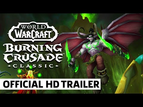 WoW Classic: Burning Crusade Announcement Trailer   BlizzCon 2021