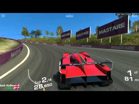 Real Racing 3 Nissan GT R LM NISMO