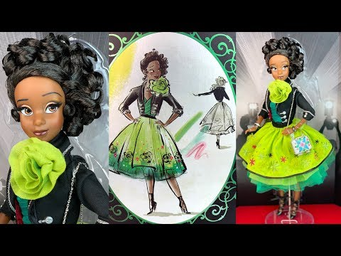tiana-2009:-disney-designer-collection-premiere-series-doll-review