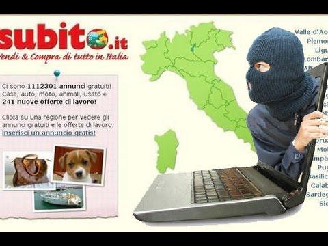 Truffa Subito.it: Gianluca Cupri! Compra online, prendilo nel culo! L'Italia dei ladri impuniti