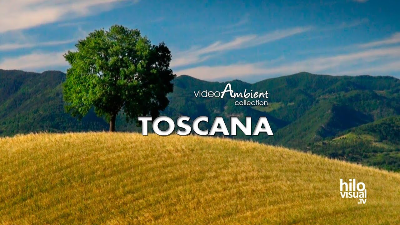 La Toscana, Nature Sounds and Landscapes - YouTube