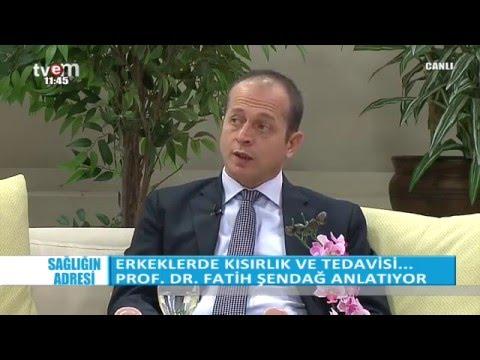 Prof.Dr.Fatih Şendağ kadınlarda kısırlık riskini anlatıyor. Bölüm 1