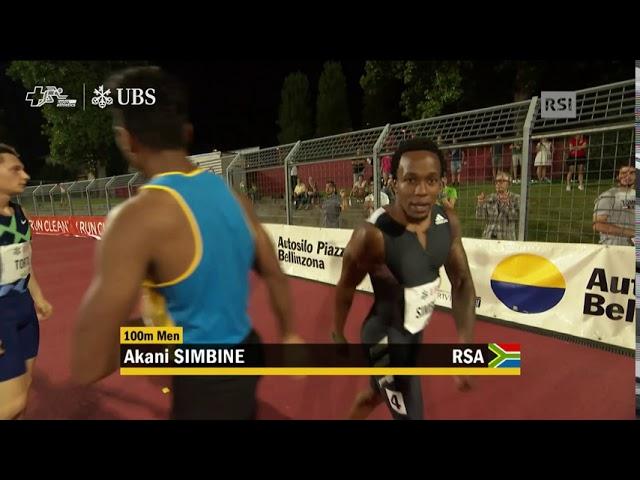 Galà dei Castelli 2020 - 100m Männer