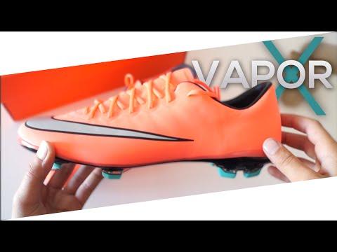 best cheap 98c15 d66f2 Unboxing NEW 2016 - Nike Mercurial Vapor X FG Junior -Bright ...