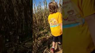 Children Of The Corn Harry Potter Corn Maze Pt. 2