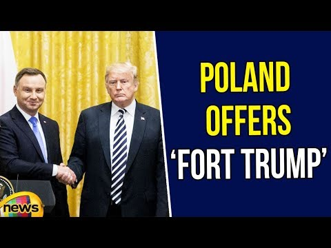 Poland Offers 'Fort Trump' as Name If U.S. Builds Military Base | Trump News Updates | Mango News