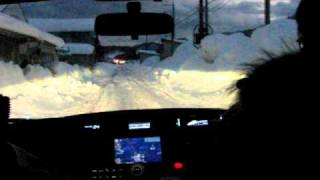神鍋高原スキー場付近